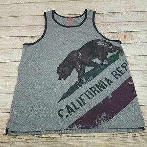 🌟B2G1 NWT Men's Levi's California Bear Tank Top